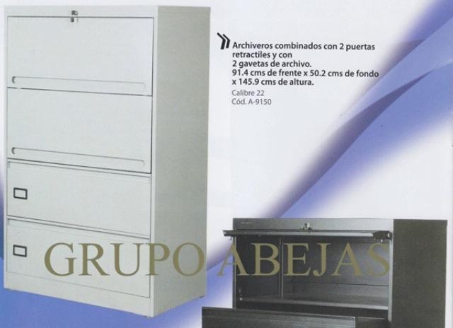 Archivero Horizontal Combinado A 9150 1