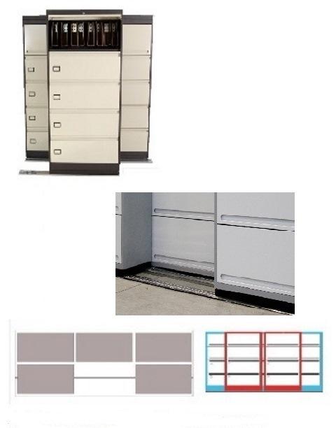 Archivero Movil Combinado SAC  9178 01