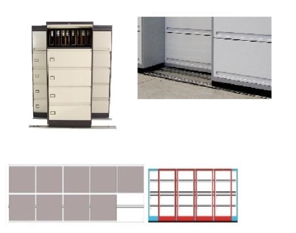 Archivero Movil Combinado SAC  9180 01