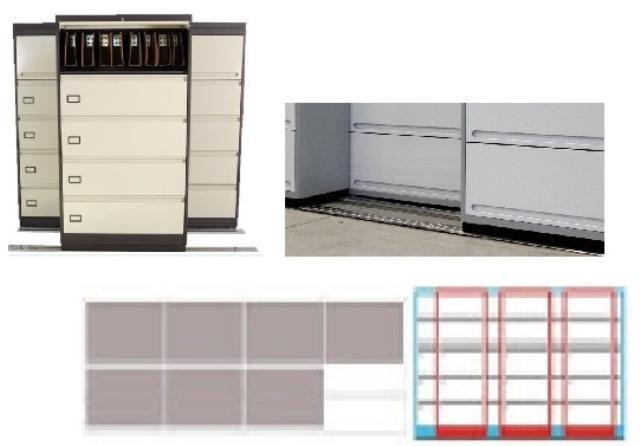 Archivero Movil Combinado SAC  9183 01