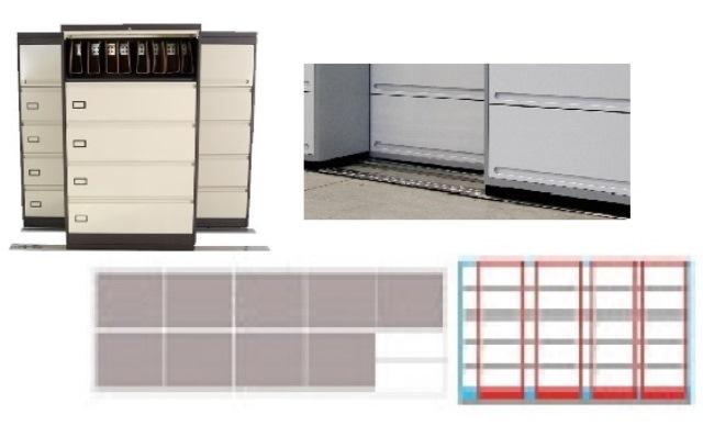 Archivero Movil Combinado SAC  9188 01