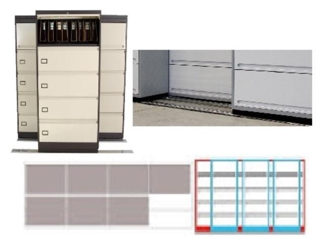 Archivero Movil Combinado SAC  9191 01