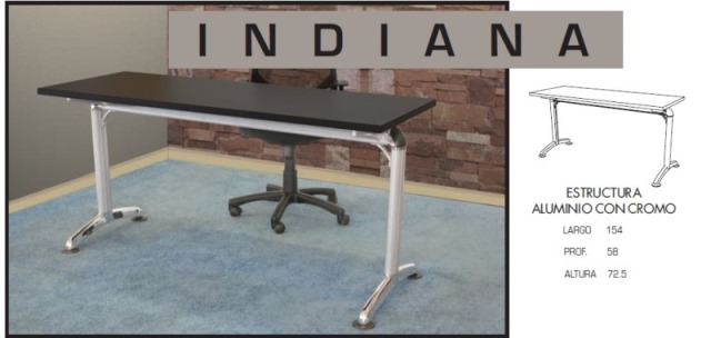 Escritorio Secretarial Indiana 01 1