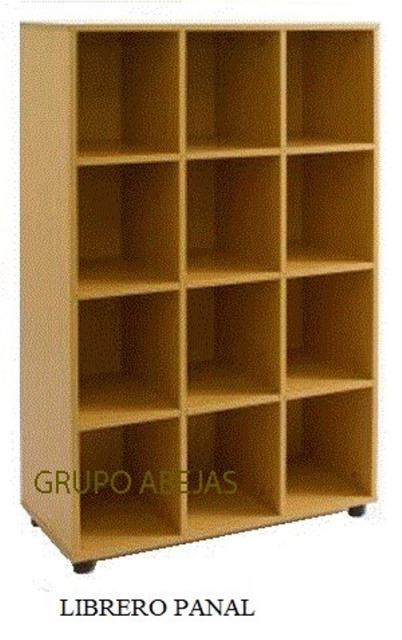 Librero Panal