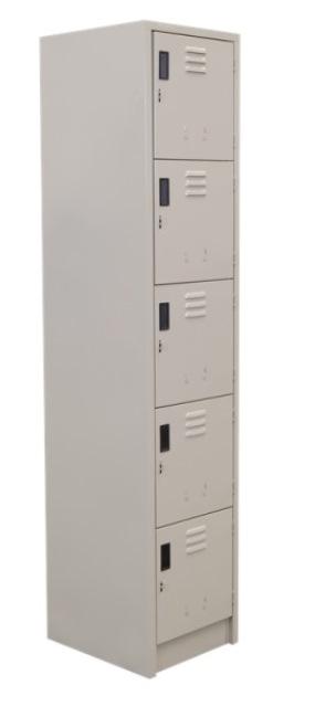 Locker 5 Puertas 38 x 45 x 1.80 1 R