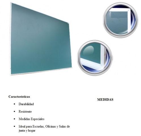 Pizarron Verde Estandard Para Gis Medidas 1.20 x 2.40