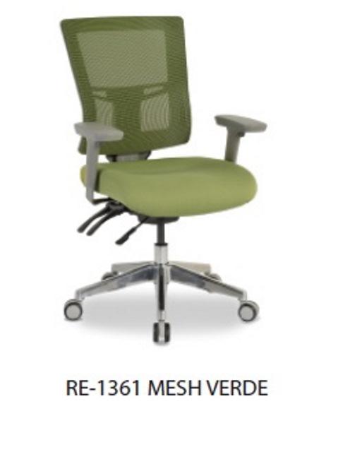 Silla Ejecutiva RE-1361 Verde