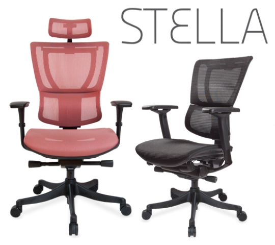 Sillas Ejecutivas Stella Alto Con Cabecera AL  251