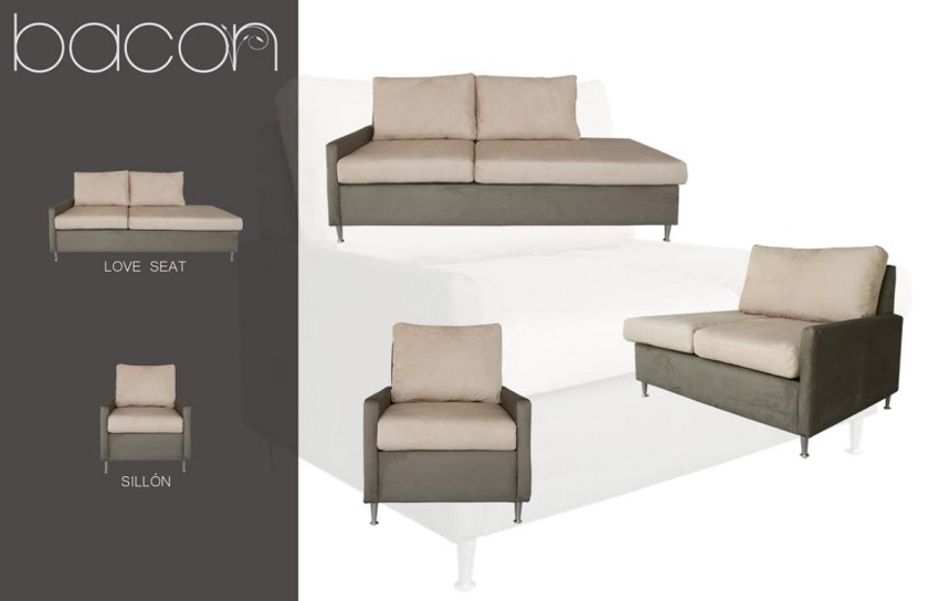 Sillon Bacon 39 3