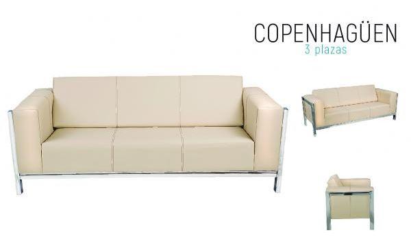 Sillon Copenhaguen 3p
